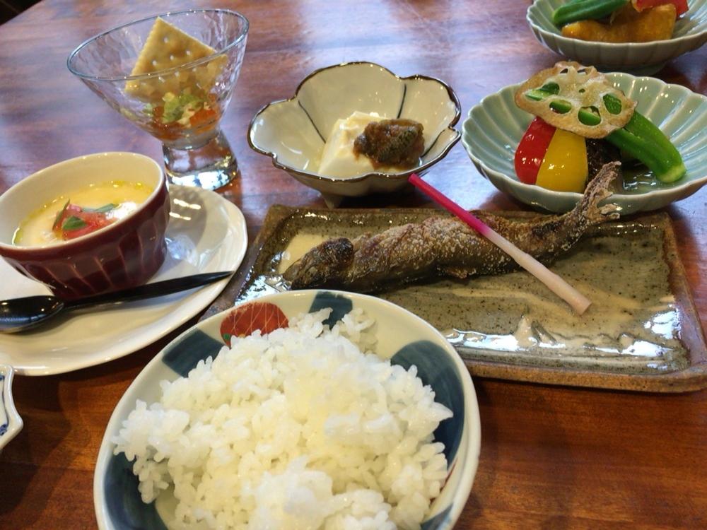 徳澤園の夕食