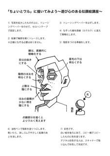 似顔絵講座2016図説001