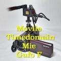 自然な音で録れるエノキダケマイク「モバイルタイムドメインマイク Gufo F」