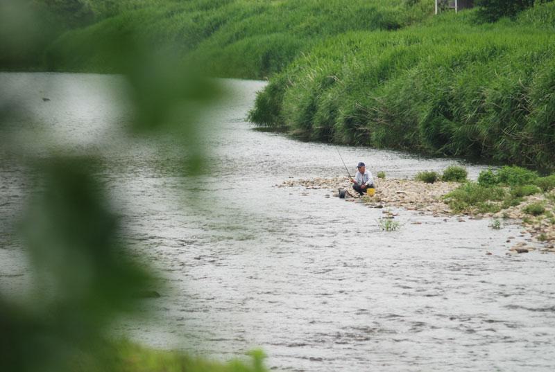 鮎釣り-1