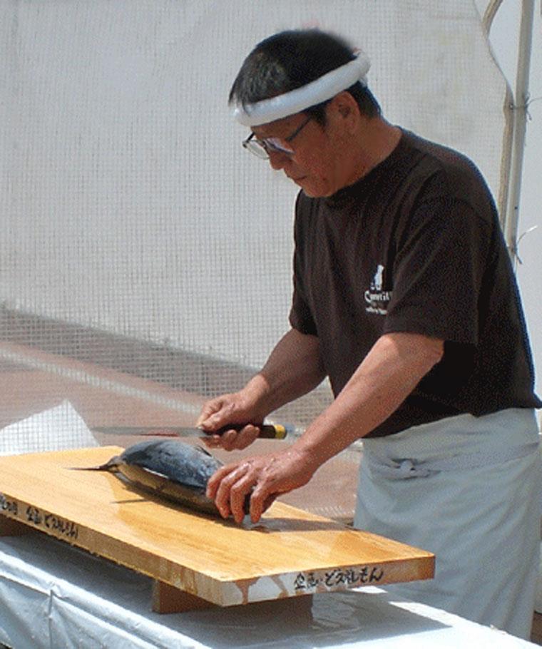 タタキ実演-2