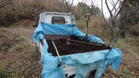 発酵牛糞堆肥の施肥