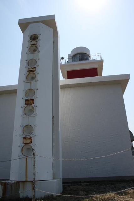 稚内市 宗谷岬灯台(霧笛付)