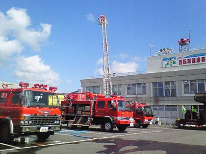 2010救急の日フェア in 豊富町