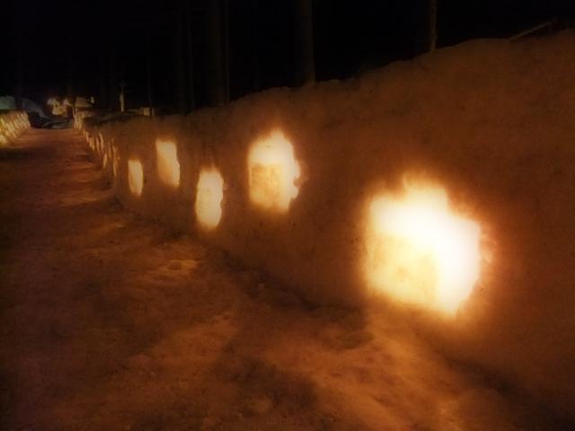 豊富温泉雪あかり