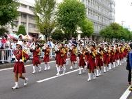 ファンファーレバンド部パレード 2015-10-10