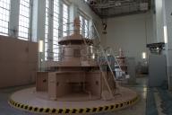 関西電力今渡発電所の発電機