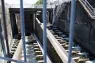 今渡発電所の魚道