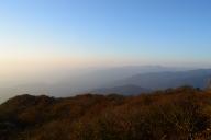 伊吹山から見た余呉方面の山並み