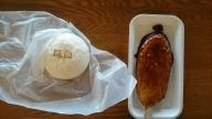 スカイテラス伊吹山の「味仙まん」と「五平餅」