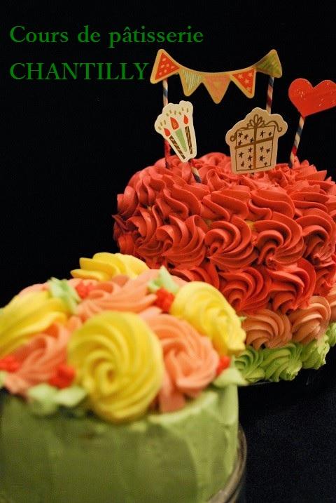 『グラデーションケーキ』