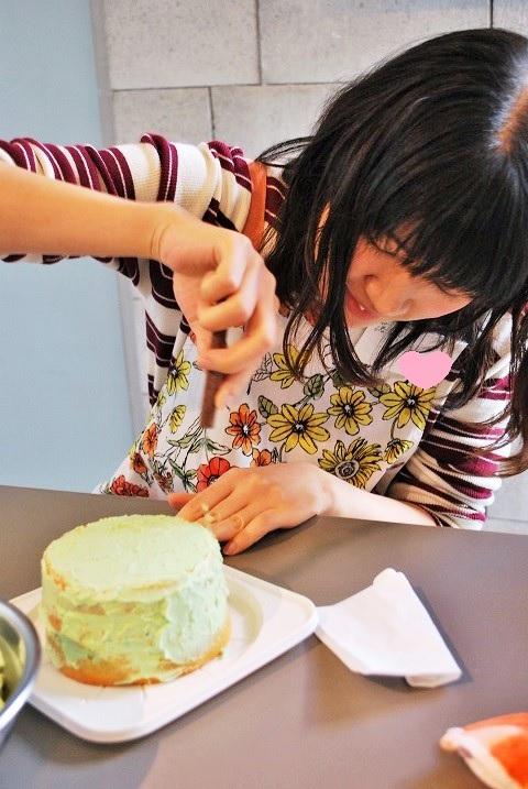『フラワーケーキ』Lesson
