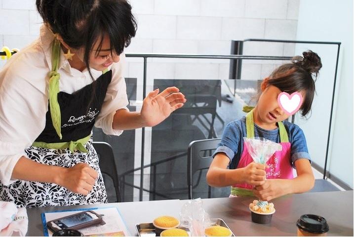 『デコレーションカップケーキ』Lesson