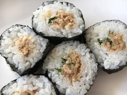 ツナ味噌海苔巻き