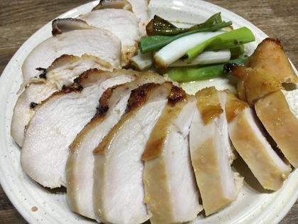 鶏胸肉の味噌漬けオーブン焼き