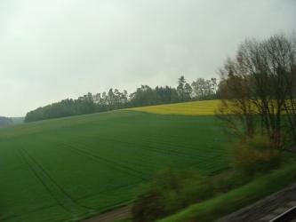 南ドイツの眺め