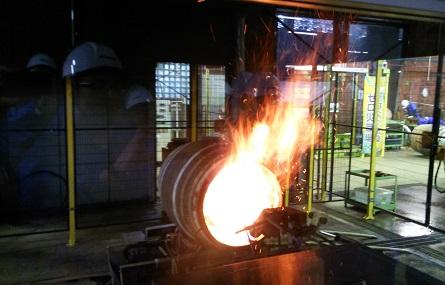 宮城峡 樽焼き