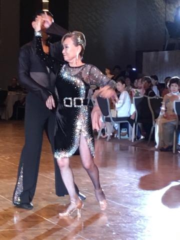ダンスヘアメイク