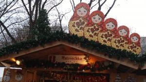 クリスマスマーケットマトリョーシカ
