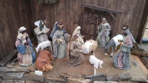 クリスマスマーケットキリスト誕生1