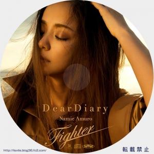 安室奈美恵 Dairy CDラベル