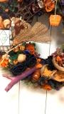 hallow ween wreath