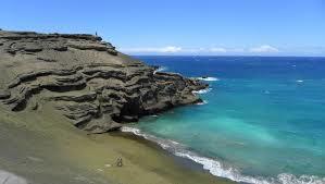 グリーンサンドビーチ絶景
