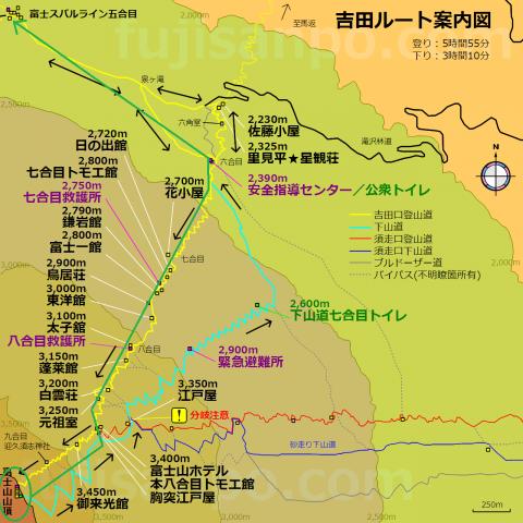 吉田口ルート② - コピー (2)