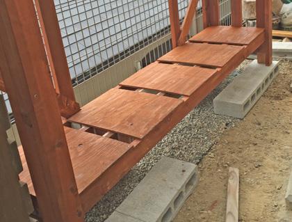 棚板の敷き板