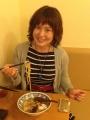 由美子さん最終日