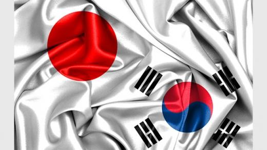 日本韓国国旗