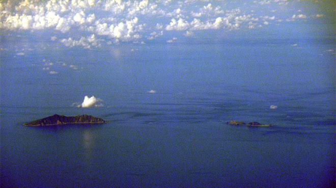 尖閣諸島 魚釣島、北小島 南小島