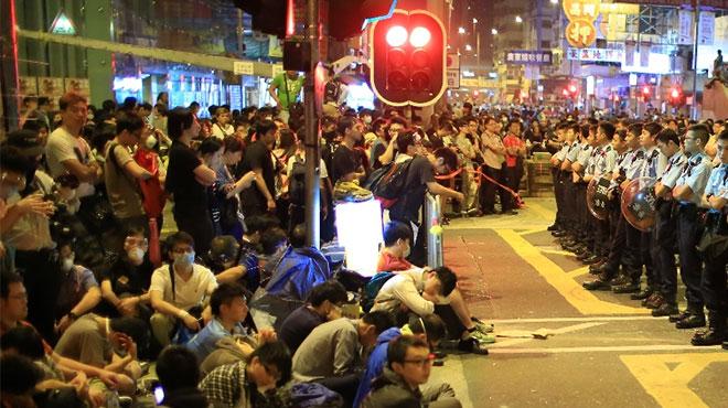 2014年に起きた香港雨傘革命