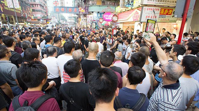 香港 独立派議員資格無効