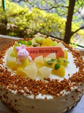 きいちゃんのバースデーケーキ