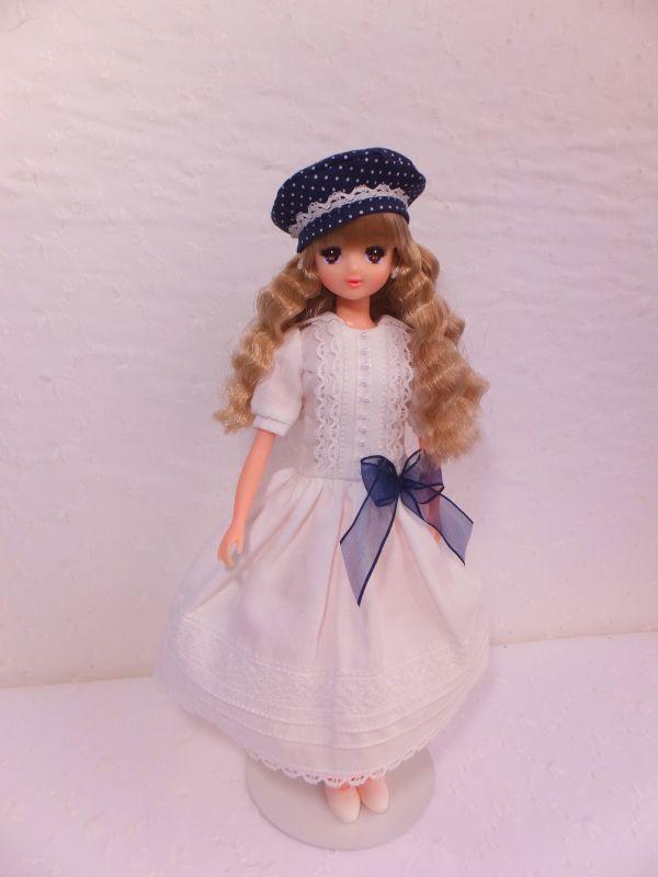 s-白ドレス
