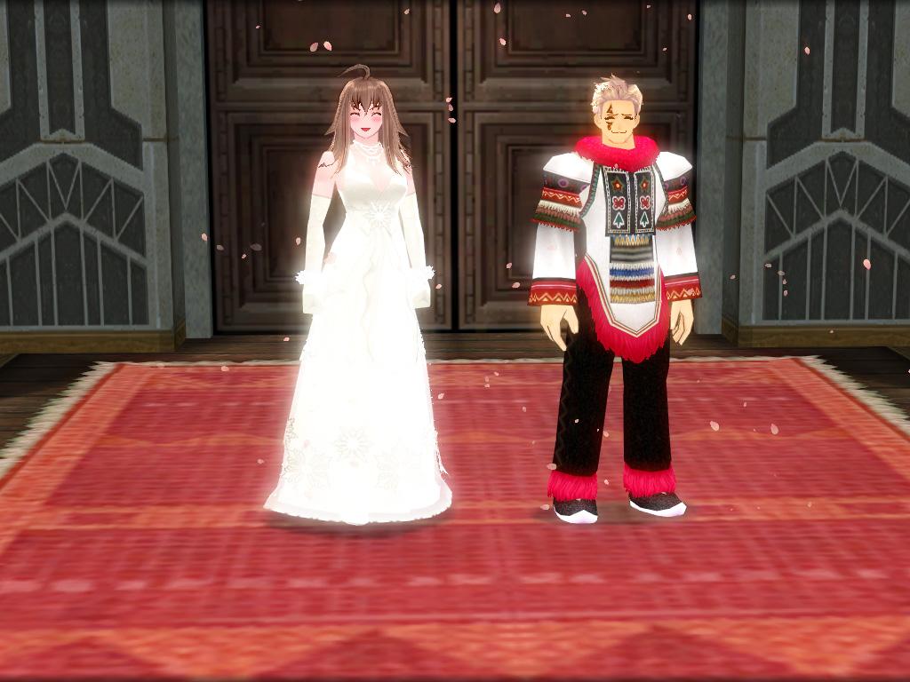 髭さんと善さんの結婚式4
