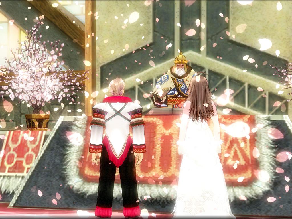 髭さんと善さんの結婚式5