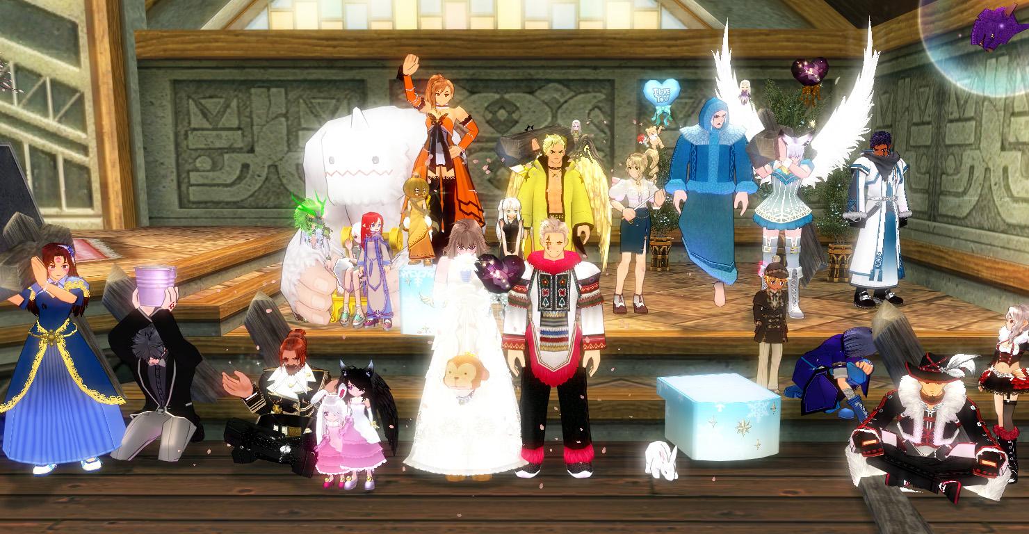髭さんと善さんの結婚式7