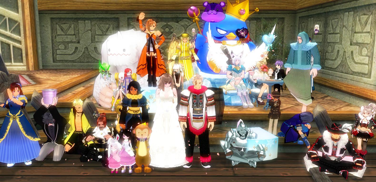 髭さんと善さんの結婚式9