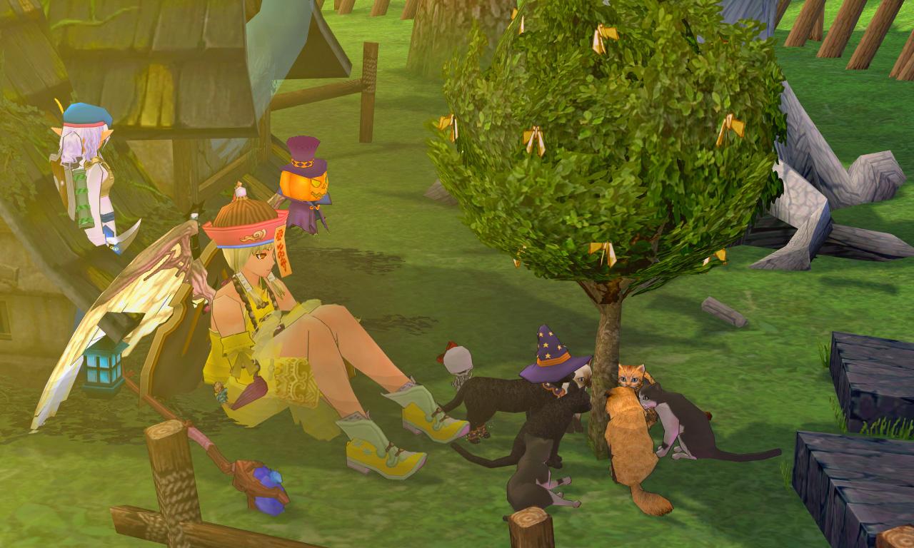 ハロウィン!ギルド仮装パーティ1