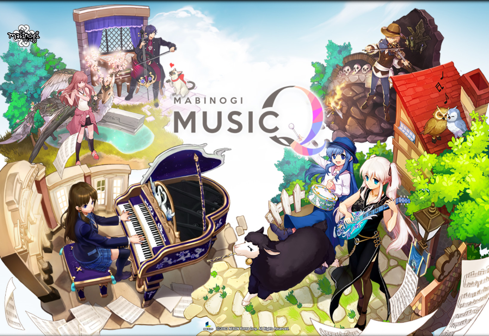 MusicQログイン画像