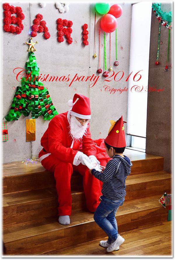 クリスマスパーティーサンタ