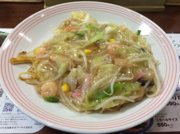 太麺皿うどん@赤羽 (1)