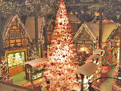 クリスマスビレッジ店内