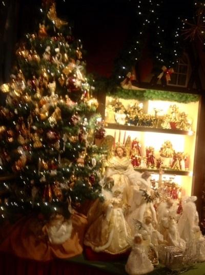 クリスマスビレッジ内