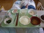 終わって食事1