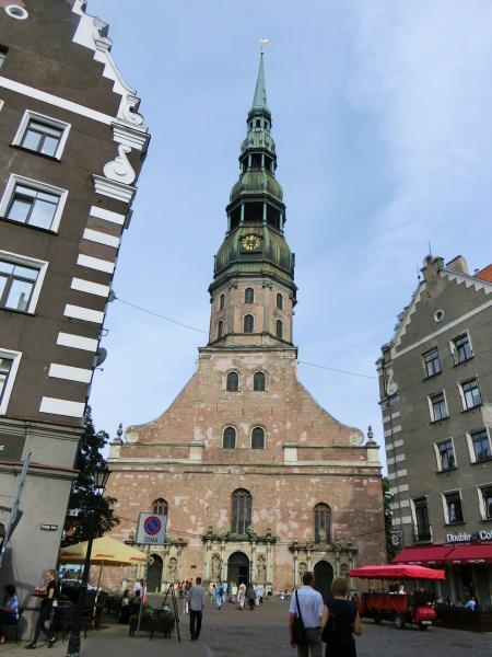 聖ペテロ教会 塔の上1