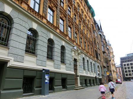 リガ ユーゲントシュティール建築群4