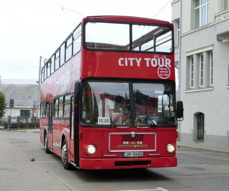 リガ 観光バス・シティーツアー1